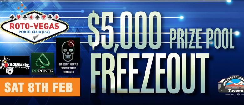 $5,000 Tax Free Poker Bounty Hunter/Terminator 3