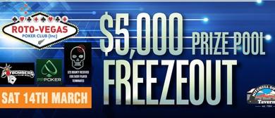 $5,000 Tax Free Poker Bounty Hunter/Terminator 4