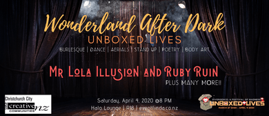 Wonderland After Dark: Unboxed Lives: CANCELLED