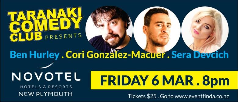 Taranaki Comedy Club - March 2020