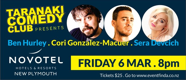 Taranaki Comedy Club - March 2020