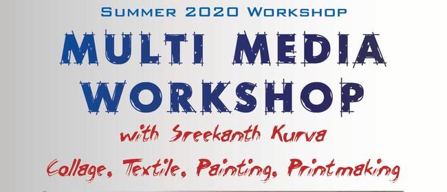 Multi-Media Art Workshop: CANCELLED