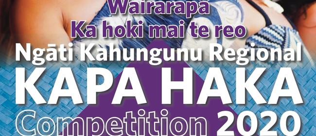 Ngāti Kahungunu Regional Kapa Haka Competition 2020