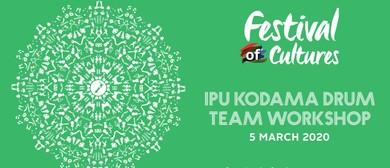 IPU Kodama Drum Team Workshop - Festival of Cultures