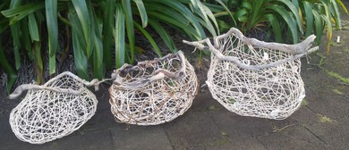 Whimsical Driftwood Baskets