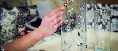 Craft, Conversation and Cabernet with Astar: Vase Decoration