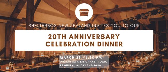Shelterbox 20th Anniversary Celebration Dinner