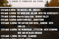 The Flaming Mudcats - South Island Tour 2020
