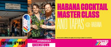 Habana Cocktail Master Class & Tapas