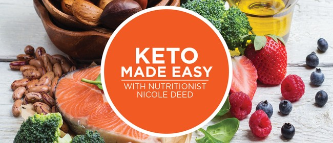 Keto Made Easy - What to eat, what not to eat: CANCELLED