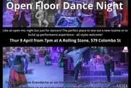 Open Floor Dance Night