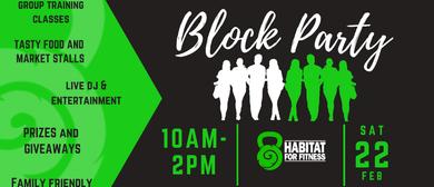 Habitat For Fitness Block Party