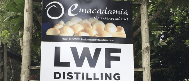 Pre WOMAD LWF Distilling & Emacadamia Tour and Tastings
