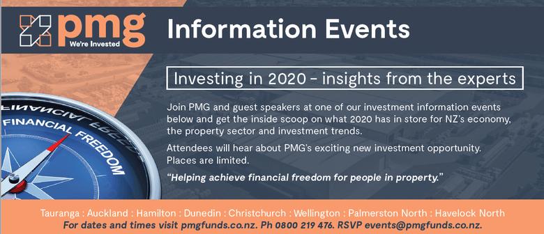 PMG Information Event