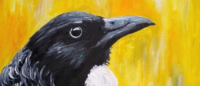 Paint & Wine Night - Kowhai Tui - Paintvine: CANCELLED