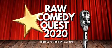 Raw Comedy Quest 2020 - Taranaki