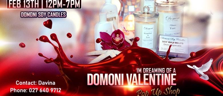 Domoni Valentine's Pop Up Shop