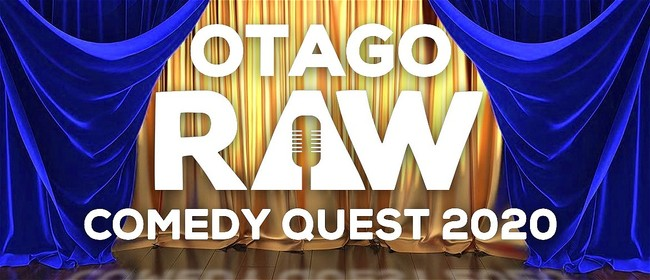 Raw Comedy Quest 2020: CANCELLED