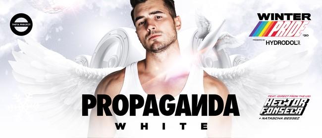 Propaganda WHITE: Winter Pride '20 Final Party: CANCELLED
