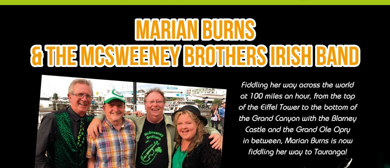 Marian Burns & The McSweeney Brothers Irish Band