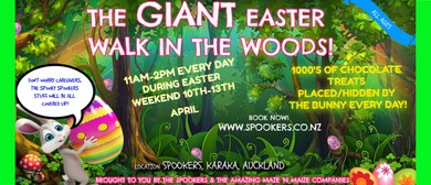 The Giant Easter Walk in the Woods: CANCELLED