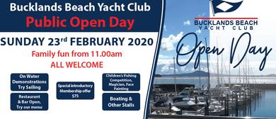 Bucklands Beach Yach Club Public Open Day