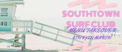 Southtown Surf Club Menu Takeover
