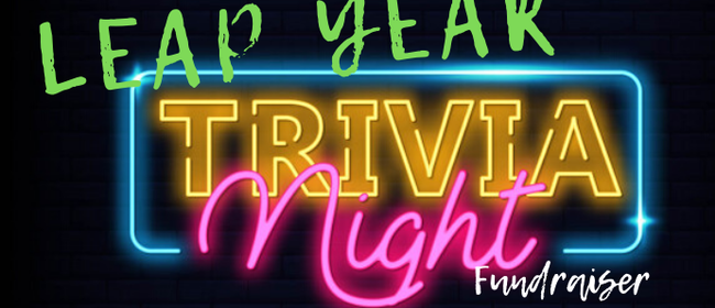 Te Puke Toy Library Leap Year Trivia Night Fundraiser
