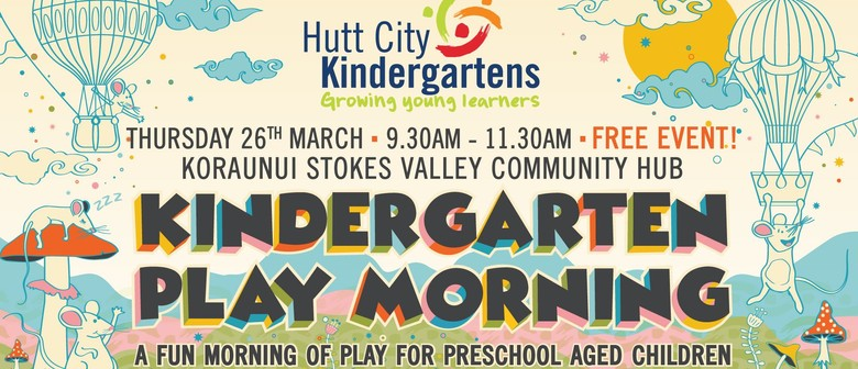 Kindergarten Play Morning: CANCELLED