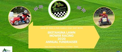 Eketahuna Lawn Mower Racing Annual Fundraiser