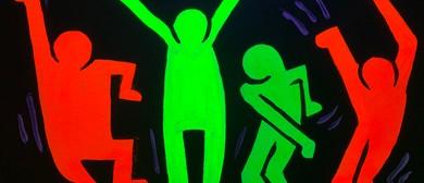 Glow In The Dark Paint Night - Boogie - Paintvine