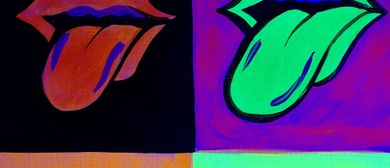 Glow In The Dark Paint Night - Rolling Stones - Paintvine