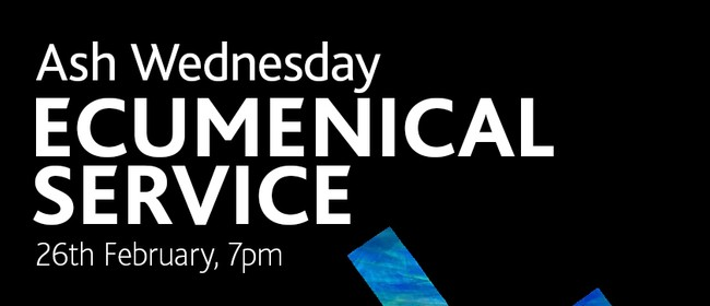 Ash Wednesday Ecumenical Service