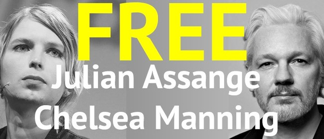 Julian Assange and Chelsea Manning