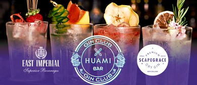 Huami Gin Club Launch – Scapegrace Discovery Tasting