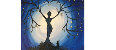 Wine and Paint Party - Goddess Painting