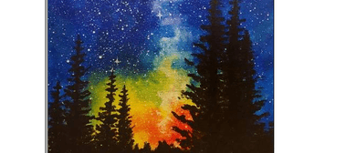 Wine and Paint Party (BYO) - Galaxy Painting