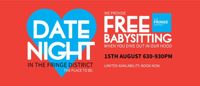 Date Night - In The Fringe District: CANCELLED