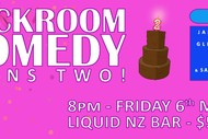 Backroom Comedy Turns Two