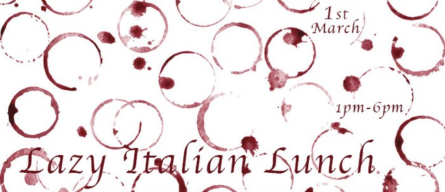 Lazy Italian Lunch with Union Square + Stonecutter Vineyard