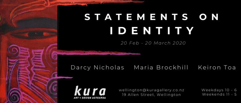Darcy Nicholas - Statements on Identity