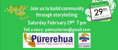 Pūrerehua Storytelling Leap of Faith