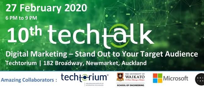 TechTalk #10 - Digital Marketing
