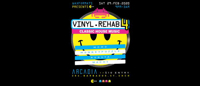 Vinyl Rehab 4 House Edition