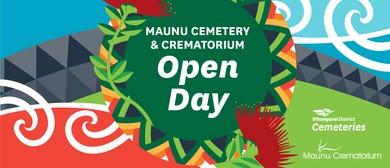 Maunu Cemetery & Crematorium Open Day