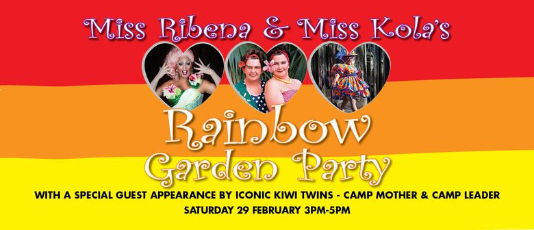 Miss Ribena & Miss Kola's Rainbow Garden Party