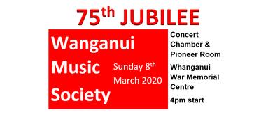 Wanganui Music Society: 75th Jubilee Celebration