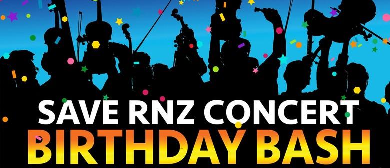 Save RNZ Concert Birthday Bash