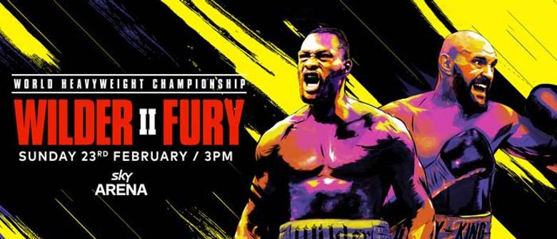 WCB Live: Wilder vs Fury II