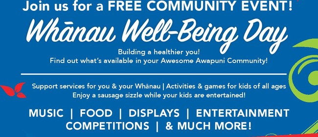 Awesome Awapuni Day - Whanau Well-being Day 2020